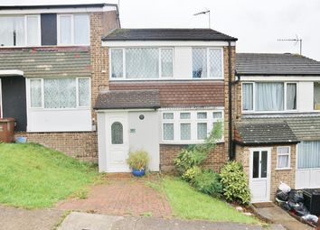 Thumbnail 3 bed terraced house for sale in Sundridge Drive, Walderslade, Kent