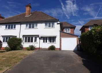Thumbnail 4 bed semi-detached house to rent in Orphanage Road, Erdington, Birmingham