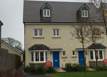 Thumbnail 4 bed semi-detached house to rent in Honeyhill Grove, Pembroke, Pembrokeshire