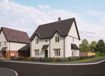 Thumbnail 4 bedroom detached house for sale in Old Station Road, Mendlesham, Stowmarket