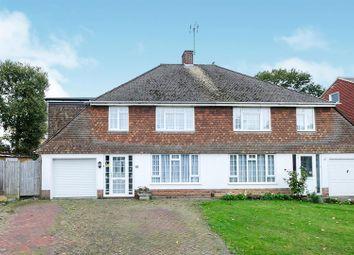 Thumbnail 4 bed semi-detached house for sale in Sullivan Road, Tonbridge