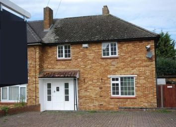 Thumbnail 3 bed semi-detached house to rent in Arundel Drive, Chelsfield, Orpington