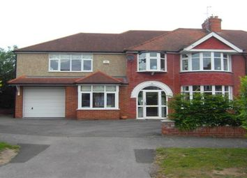 Thumbnail 5 bed semi-detached house to rent in Salcombe Drive, Earley, Reading