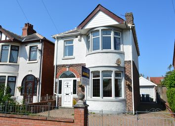 Thumbnail 3 bedroom detached house for sale in James Avenue, Marton, Blackpool