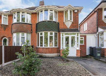 3 bed semi-detached house for sale in Clay Lane, Yardley, Birmingham B26