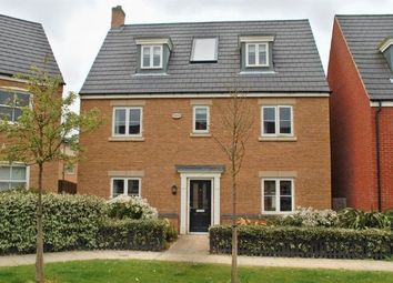 Thumbnail 5 bed detached house for sale in Digby Close, Timken South, Duston