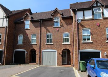 Thumbnail 4 bed town house for sale in Highgrove Close, Tamworth