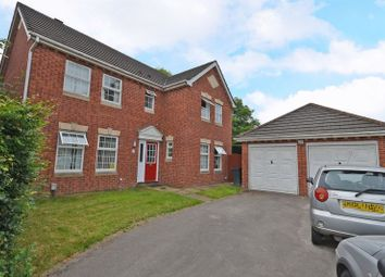 Thumbnail 4 bed detached house for sale in Spacious House In Large Plot, Cutter Close, Newport