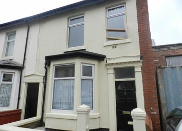 Thumbnail 3 bed end terrace house for sale in Duke Street, Blackpool