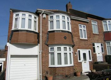 Thumbnail 3 bed semi-detached house to rent in Tantobie Road, Newcastle Upon Tyne