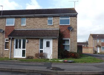 Thumbnail 2 bed end terrace house to rent in Langport Close, Freshbrook, Swindon