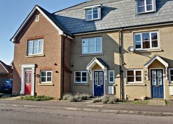 Thumbnail 4 bed terraced house for sale in Woolthwaite Lane, Lower Cambourne, Cambourne, Cambridge