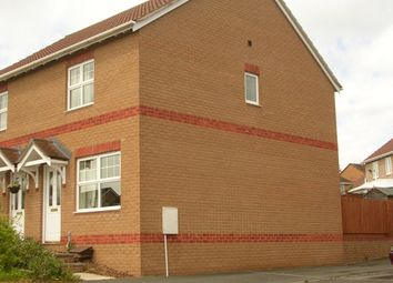 Thumbnail 2 bed semi-detached house to rent in Dove Close, Cullompton