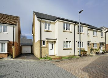 Thumbnail 3 bed semi-detached house for sale in Bargroves Avenue, St Neots, Cambridgeshire
