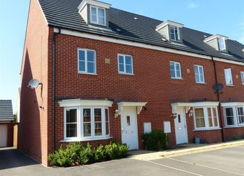 Thumbnail 4 bed end terrace house for sale in Venus Way, Peterborough