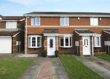 Thumbnail 2 bed semi-detached house to rent in Locksley Close, North Shields, Tyne And Wear