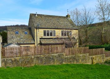 Thumbnail 4 bed detached house for sale in Luddendenfoot, Halifax