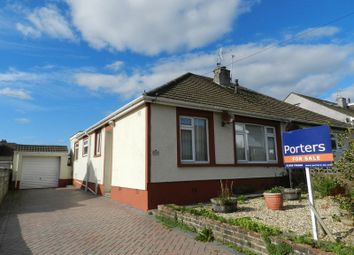 Thumbnail 2 bed semi-detached bungalow for sale in St. Winifreds Road, Bridgend