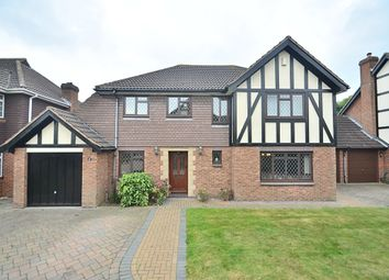 Thumbnail 4 bed detached house for sale in Ripley Close, Bromley