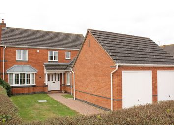 Thumbnail 4 bed detached house for sale in Dempsey Close, Lutterworth