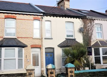 Thumbnail 3 bedroom terraced house for sale in Clovelly Road, Bideford