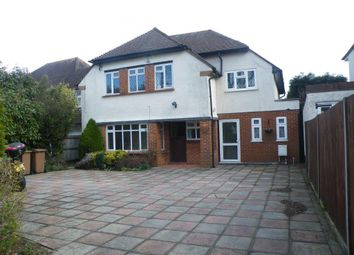 Thumbnail 5 bed detached house to rent in Wilbury Avenue, Cheam Village