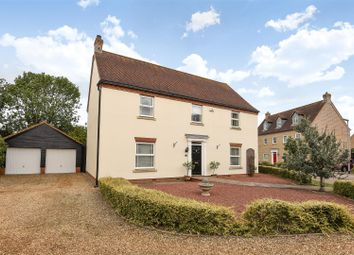 Thumbnail 4 bed detached house for sale in Kingfisher Close, Little Paxton, St. Neots