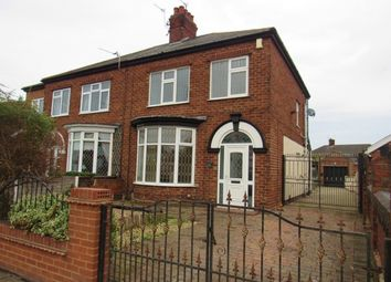 Thumbnail 3 bed semi-detached house to rent in Queen Mary Avenue, Cleethorpes