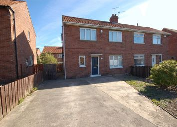 Thumbnail 3 bedroom semi-detached house for sale in Felton Drive, Forest Hall, Newcastle Upon Tyne