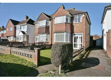 Thumbnail 3 bed semi-detached house to rent in Herschel Crescent, Littlemore, Oxford OX43Tz