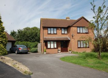 Thumbnail 4 bed detached house for sale in Swell Close, West Huntspill, Highbridge