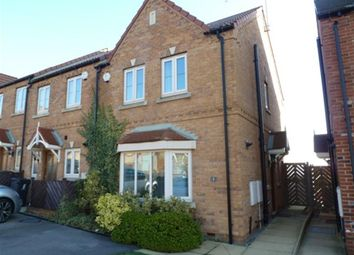 Thumbnail 3 bed town house to rent in Bellcross Gardens, Cudworth, Barnsley