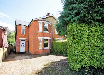 Thumbnail 3 bed semi-detached house for sale in Botley Road, Burridge, Southampton