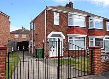 Thumbnail 3 bed semi-detached house for sale in Braemar Grove, Middlesbrough