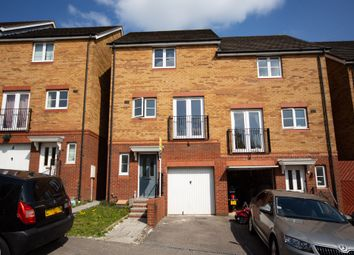 Thumbnail 3 bed town house for sale in Cottingham Drive, Pontprennau, Cardiff