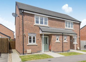 Thumbnail 2 bed semi-detached house for sale in Kinross Way, Hinckley