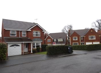 Thumbnail 4 bed detached house to rent in Floyd Grove, Balsall Common