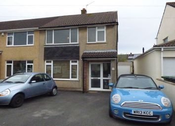 Thumbnail 3 bed semi-detached house to rent in Bradley Avenue, Winterbourne, Bristol