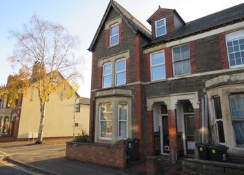 Thumbnail 3 bed duplex to rent in Llanfair Road, Cardiff