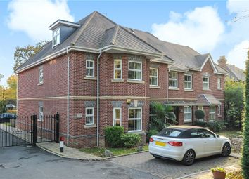 Thumbnail 2 bed flat for sale in Tudor Court, London Road, Windlesham