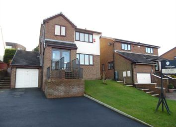 Thumbnail 4 bed detached house for sale in Hillside Avenue, Shaw, Oldham