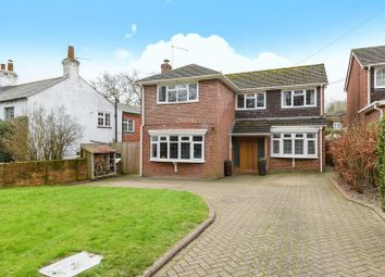 Thumbnail 4 bed detached house for sale in Basingstoke Road, Ramsdell, Tadley