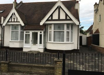 Thumbnail 3 bed semi-detached bungalow to rent in Gyllyngdune Gardens, Ilford