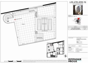 Thumbnail 4 bed apartment for sale in 75018, Paris 18Eme Arrondissement, Fr