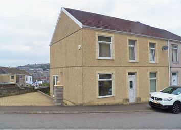 Thumbnail 4 bed semi-detached house for sale in Kilvey Road, St. Thomas, Swansea