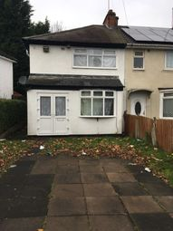 Thumbnail 3 bedroom semi-detached house to rent in Eastfield Road, Bordesley Green