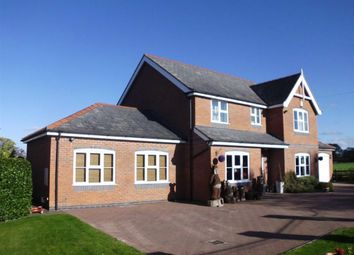 Thumbnail 4 bed detached house for sale in Bear House, Crew Green, Powys