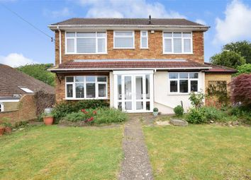 Thumbnail 4 bed detached house for sale in Dargets Road, Lords Wood, Chatham, Kent