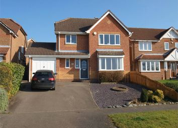 Thumbnail 4 bed detached house for sale in Edgecote Drive, Newhall, Swadlincote, Derbyshire