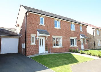 Thumbnail 3 bed semi-detached house for sale in Ridley Gardens, Shiremoor, Newcastle Upon Tyne